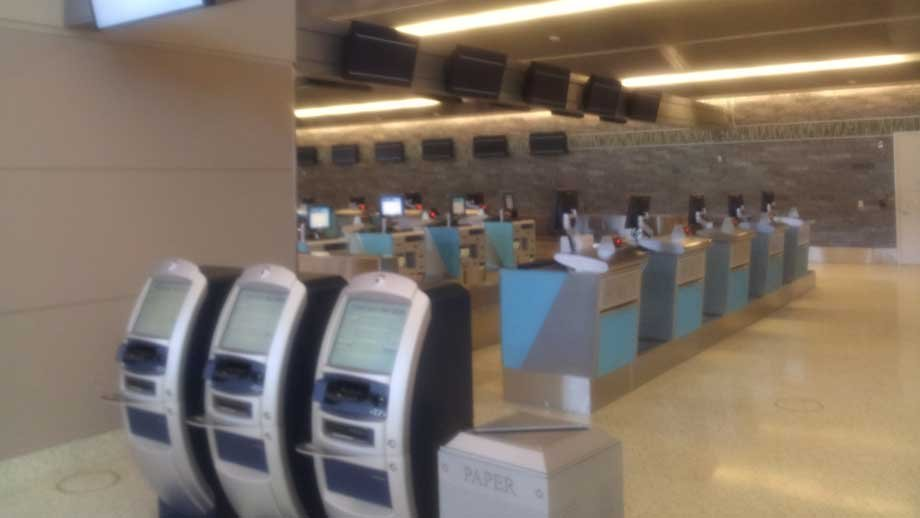 New technology will be part of the draw of Terminal 3, aviation officials said. (Armando Navarro/FOX5)
