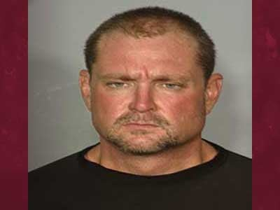 "Police say Troy Mullner is the ""Mustache Bandit."" (LVMPD)"
