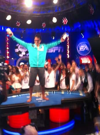 "Antonio Esfandiari will take home $18.3 million. (Christopher ""Boze"" Anguay/FOX5)"