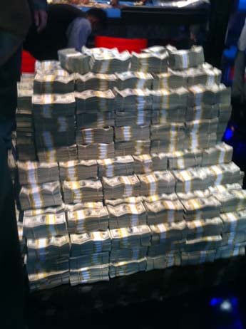 "A lot of money. (Christopher ""Boze"" Anguay/FOX5)"