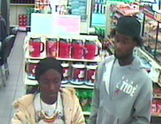 Police were searching for a couple responsible for robbing a person on June 9. (LVMPD)