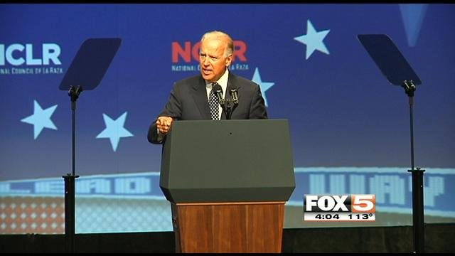 Joe Biden will make his second appearance in Las Vegas in a span of a month, speaking at the Disabled American Veterans convention.