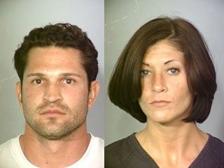 Ezekiel Parraz, left, and Candice Blackwell, right. (LVMPD)