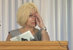 Loly Anllo is emotional after her $3,000 is returned