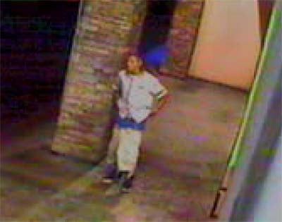 Another surveillance still of the suspect. (LVMPD)