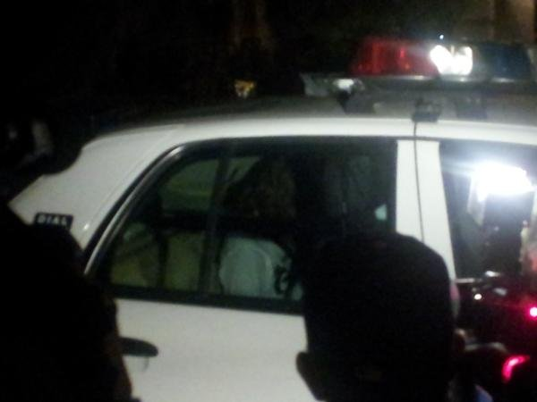 Suspect Michael Herda is taken into custody. (Matt DeLucia/FOX5)