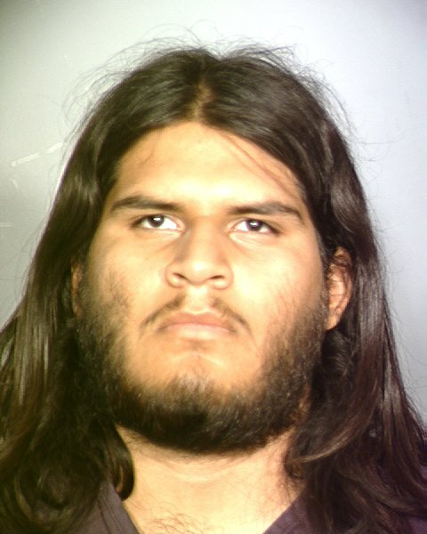 Jose Martinez, 19, was arrested on charges of murder and conspiracy to commit murder. (LVMPD)