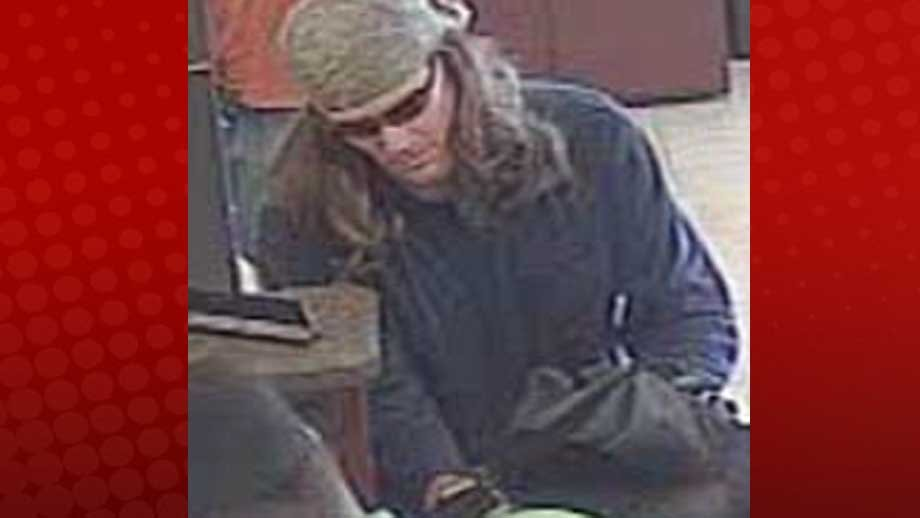 Suspect robbed bank near Craig and Jones (Photo from LVMPD).