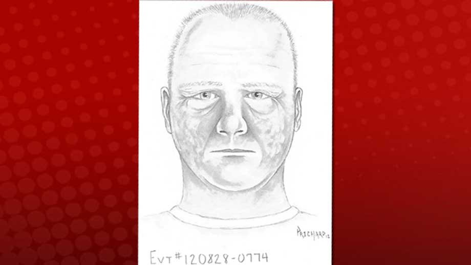 Artist sketch of sexual assault suspect (Released by LVMPD)