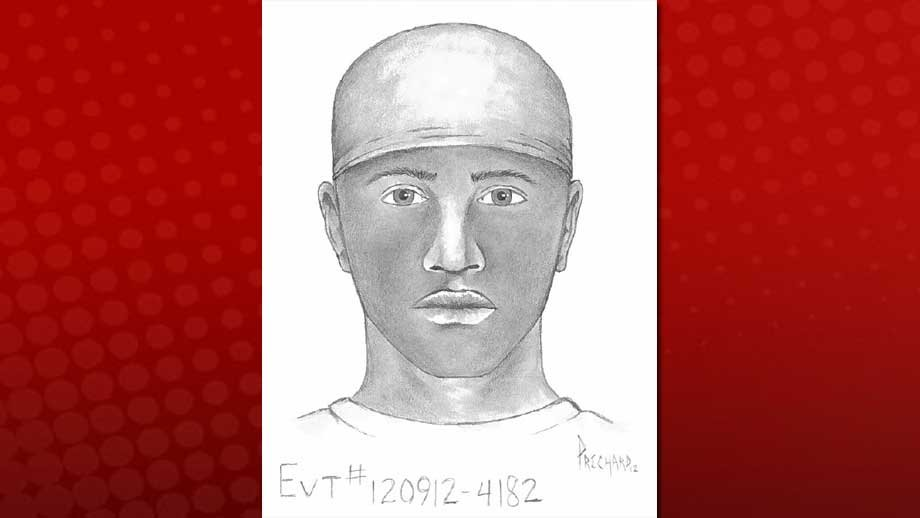 Police released a composite sketch of an armed suspect who accosted a woman on Sept. 12, 2012. (LVMPD)