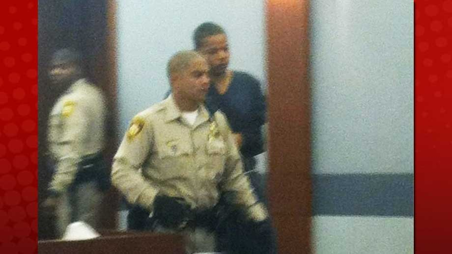 Gary Hosey is led into a court room for his initial appearance on Sept. 17, 2012. (Stefanie Jay/FOX5)