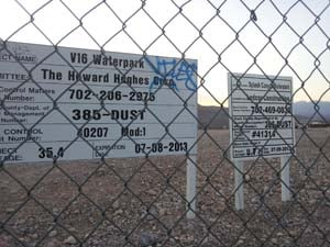The site of the proposed park near Warm Springs and Fort Apache. (Elizabeth Watts/FOX5)