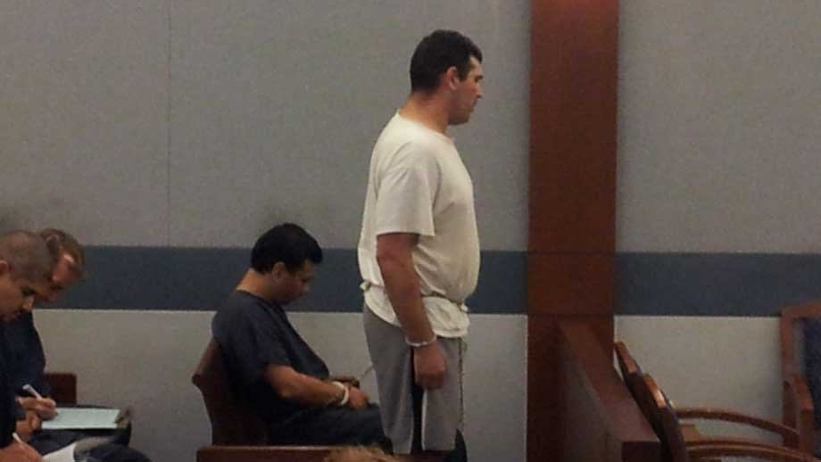 Justin Caramanica stands before a judge during a preliminary hearing for DUI. (Armando Navarro/FOX5)