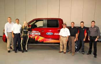 The 2013 Ford F-150 FX4 is unveiled in Dearborn, MI. (Courtesy of Getty Images for NASCAR)