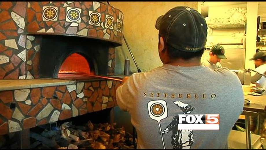 A local pizza joint - Settebello - has welcomed more customers following the president's visit.