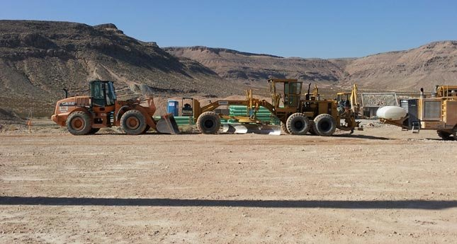 In February, work was still in its infancy stages at the planned Splash Canyon site.