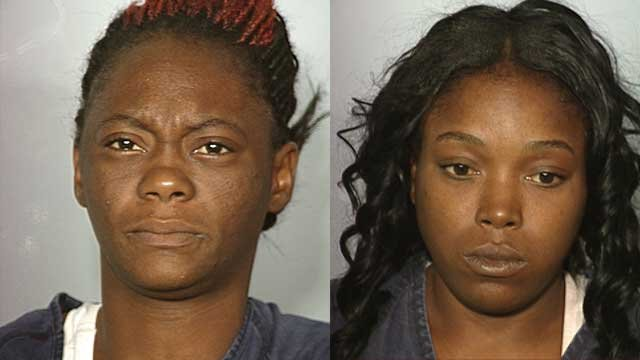 Ivory Davis (left), Ricknisha Herrington (right)-- Photos from LVMPD
