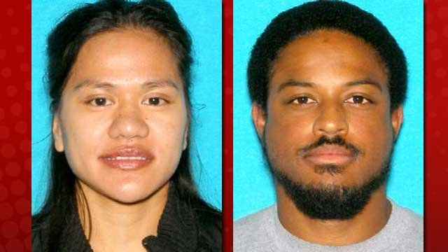 Police said Abby Roberts (left) and Phillip Johnson (right) disappeared under suspicious circumstances. (LVMPD)