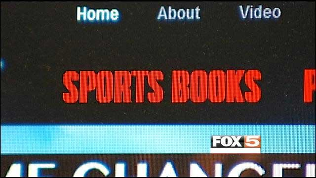 An FBI indictment said owners of a trio of offshore sports booking web sites funneled money with agents in a number of states to run the operation.