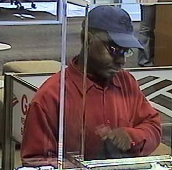 This suspect attempted to rob a bank at Fort Apache and Tropicana. (LVMPD)