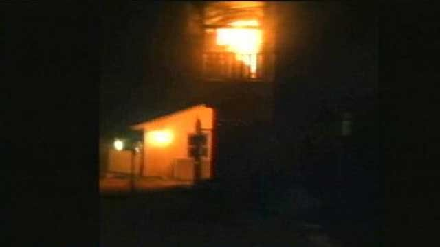Amateur video of the fire on Nov. 14, 2012. (Michelle Clark)