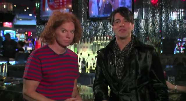 Carrot Top and Criss Angel address young men to party smart in latest Metro video. (Youtube.com/LasVegasPolice)
