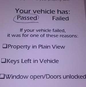 FOX5's Elizabeth Watts passed the parking test.