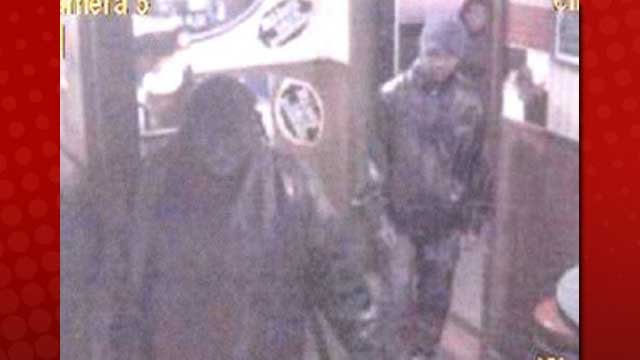 Two armed men entered a crowded business and robbed it on Nov. 22. (LVMPD)