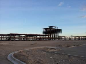 The site of The Shops at Summerlin. (Elizabeth Watts/FOX5)