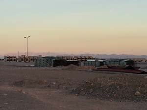 Another view of the future home of The Shops at Summerlin. (Elizabeth Watts/FOX5)