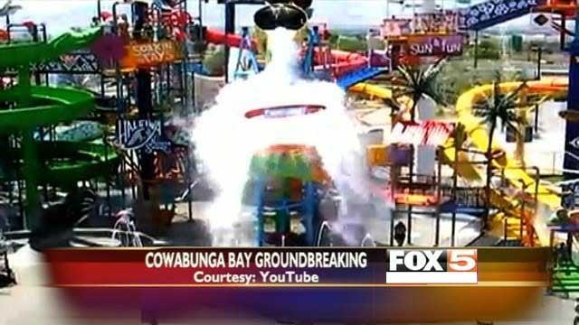 Cowabunga Bay owner Shane Huish also runs a similarly-named water park in Utah. (YouTube)