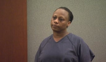 Brenda Stokes appears in court Wednesday to face charges related to an attack at the Bellagio