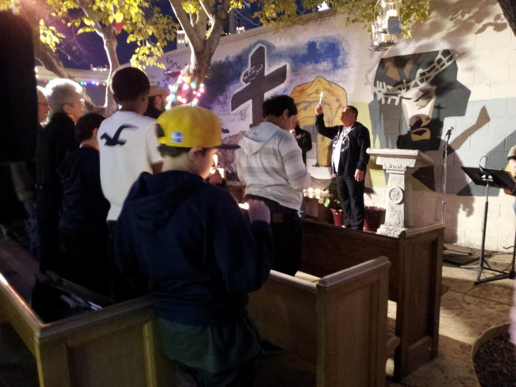 A local church held a vigil for Jade Morris Friday evening