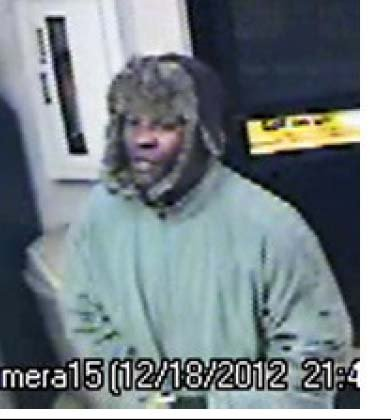 Surveillance still from the Dec. 18 robbery. (LVMPD)