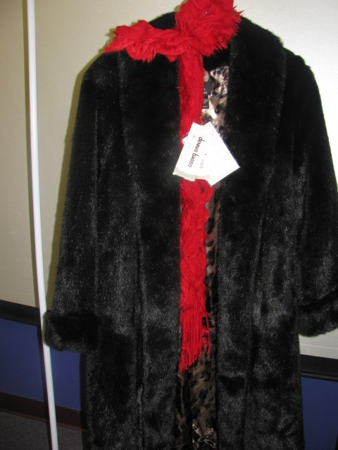 The coat up for auction