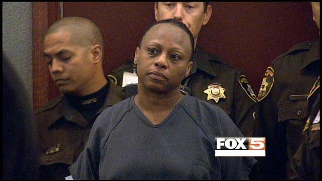 Brenda Stokes, seen here in a previous court appearance, was charged in the death of 10-year-old Jade Morris.
