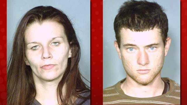 Amy Hatzenfiller, left, and Shane Gouailhardou, right. (LVMPD)