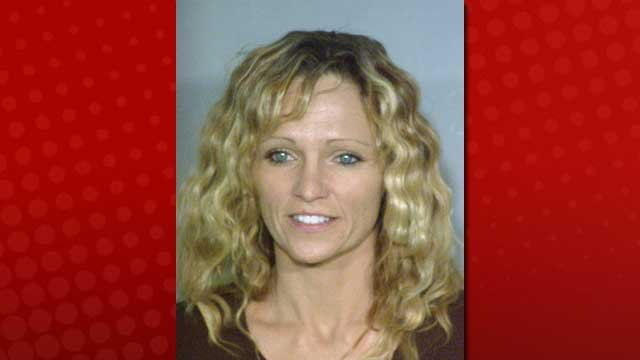 Amy Pearson, also known as Amy Bessey, was accused of conspiring to kill her husband, Robert Bessey. (LVMPD)
