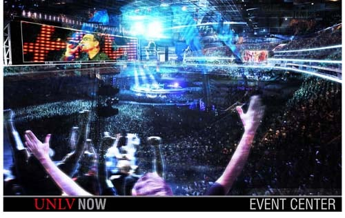 Concert rendering (Courtesy of UNLV)