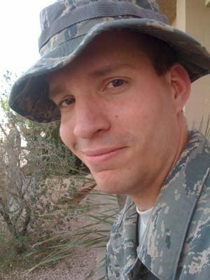 Daniel Meyer in uniform.