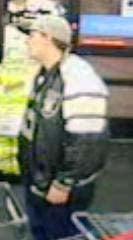 Suspect surveillance photo. (LVMPD)