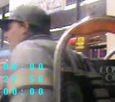 Suspect surveillance photo. (LVMPD)
