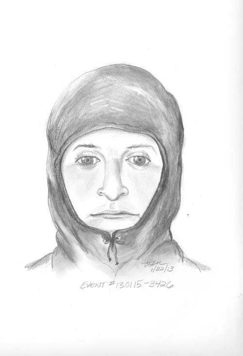 Composite sketch of the suspect. (LVMPD)