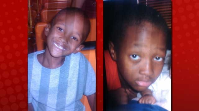 De'Andric Price II, left, and De'Andric Price, Jr., right, were reported missing late Wednesday night. (North Las Vegas PD)
