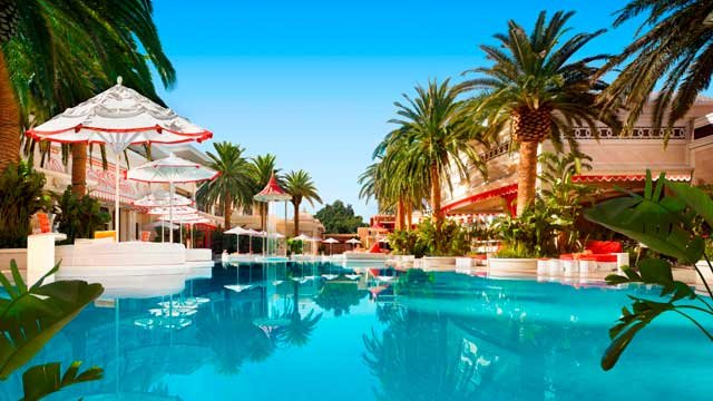 Encore Beach Club is the resident pool dayclub at Encore Hotel and Casino.