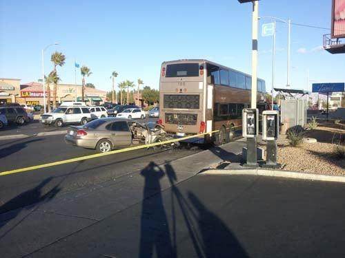 The crash occurred at 1:57 p.m. (Jason Westerhaus/FOX5)