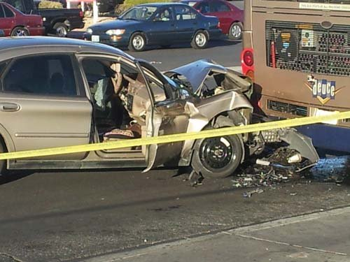 This is the 14th deadly traffic accident in Metro's jurisdiction in 2013. (Jason Westerhaus/FOX5)