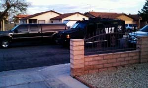 SWAT at the scene of the shooting. (Courtesy: Barbara Sanders)