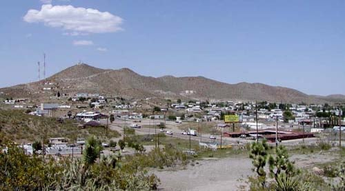 The historic town of Searchlight. (Las Vegas Commercial Business Sales)