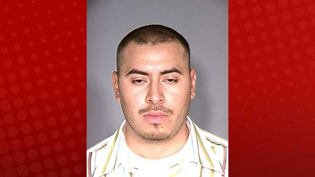 Javier Reyes, in a previous booking photo (LVMPD)